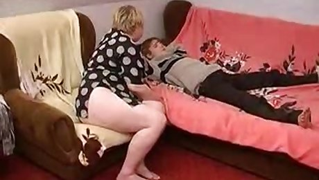 BBW Russian Mature Fucked By Her Lover